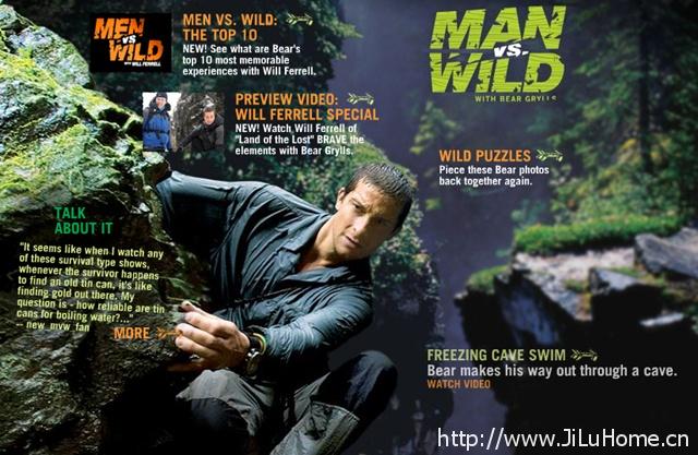 荒野求生秘技 Man vs. Wild》