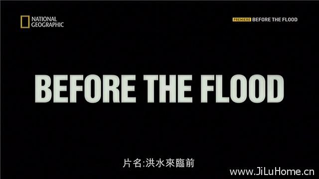 《洪水来临前 Before the Flood》