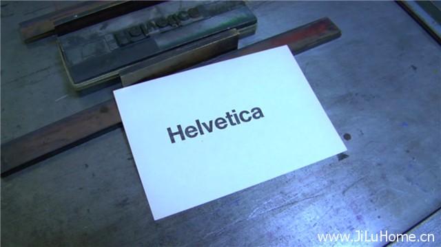 《传奇字体 Helvetica》