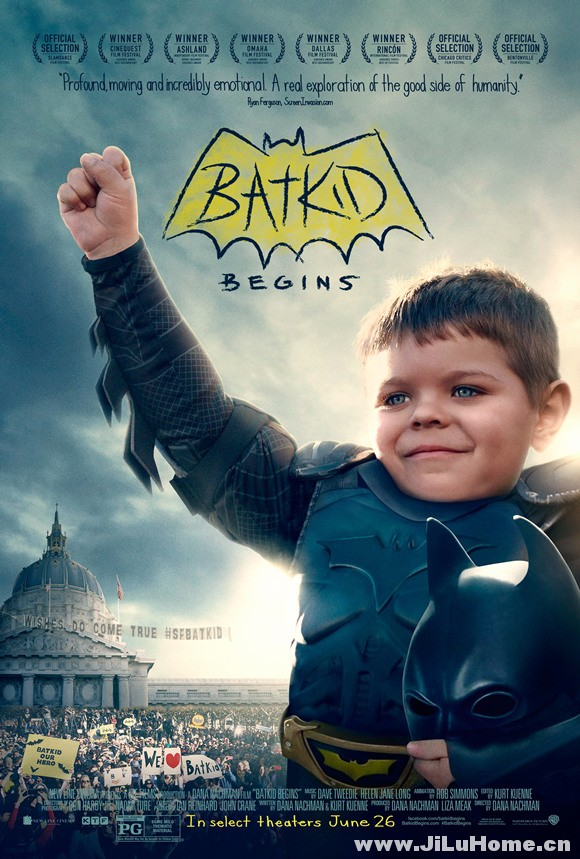 《蝙蝠小子崛起:一个被全世界听到的愿望 Batkid Begins: The Wish Heard Around the World (2015)》