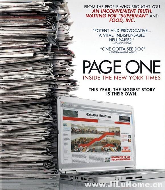 《纽约时报头版内幕 Page One: Inside the New York Times (2011)》