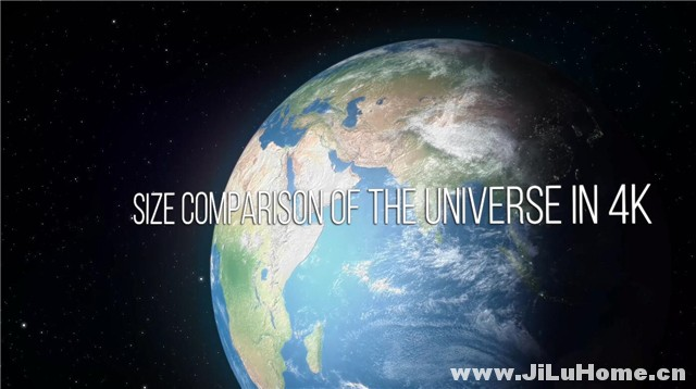 《大小对比:从量子到可见宇宙 Size Comparison of the Universe (2018)》