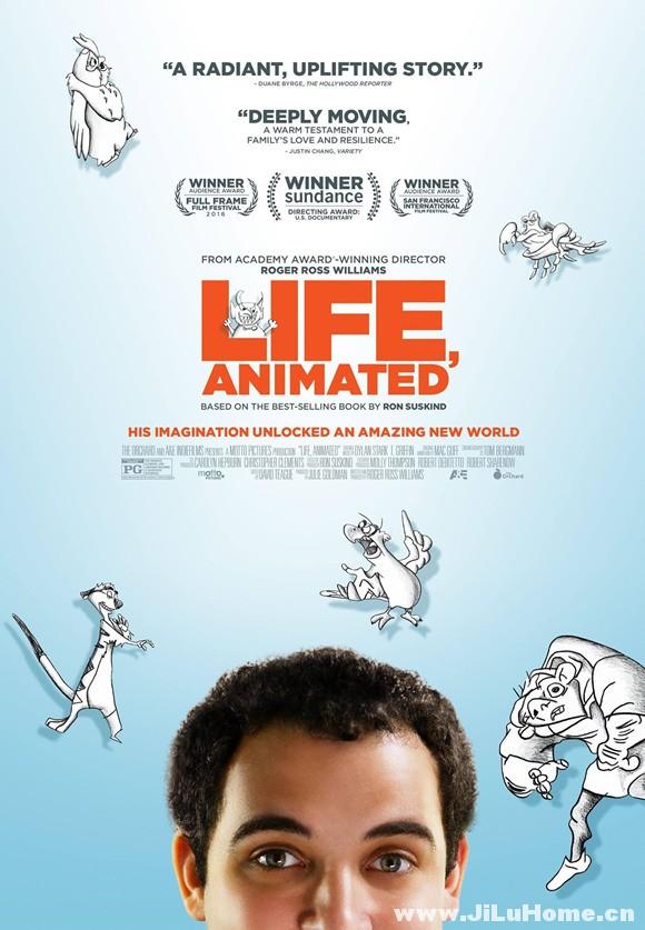 《 蓬勃的生活/生活,动画 Life, Animated (2016)》