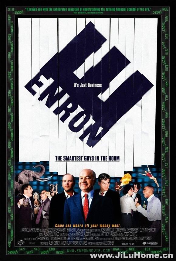 《安然:房间里最聪明的人 Enron: The Smartest Guys in the Room 2005》