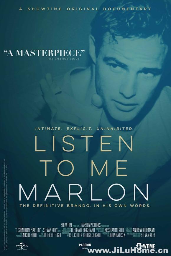 《马龙,听我说 Listen to Me Marlon》